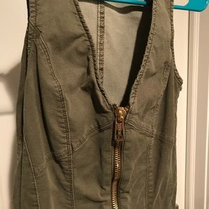 35238cac118 Guess Pants - 🆕Maxine Zip Up Jumpsuit in Army Green by Guess